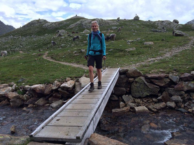 Wandern bei den Spronser Seen, Meran, Südtirol