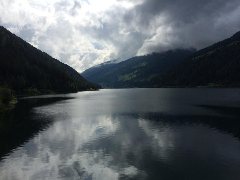 Zoggler Stausee Ultental Südtirol
