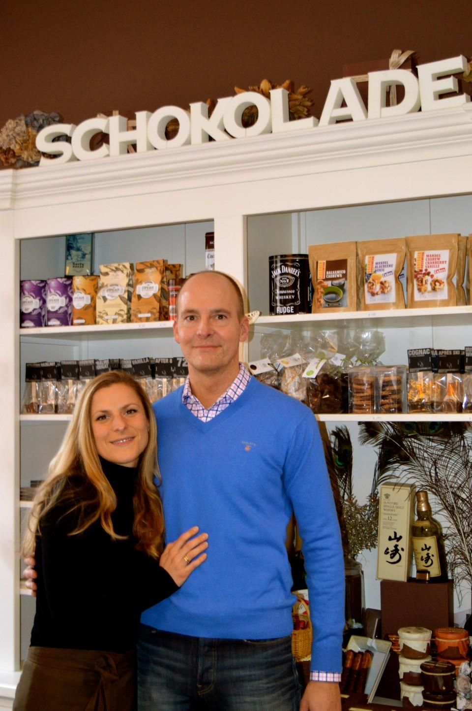 Iris & Michael Beherens vom Salon du Cacao auf den Lieblingsflecken