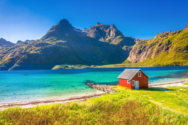 Norwegen, Trollfjord Nordeuropa - Portrait einer Region von Rasso Knoller