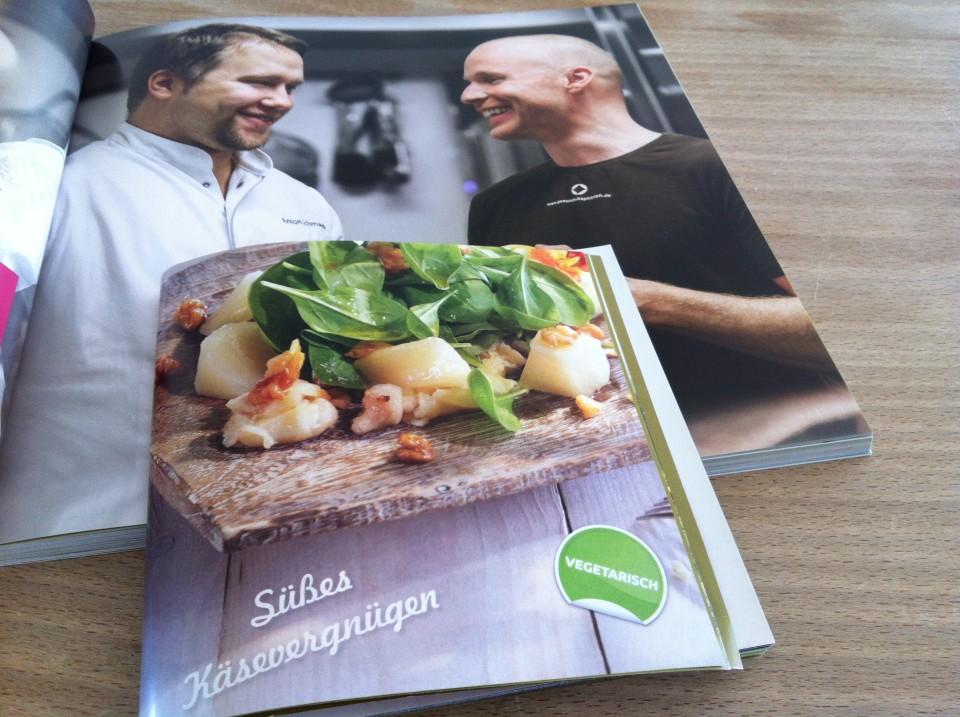Pecorino-Spinat Salat Marcus Lauk aus Steinalt und kerngesund
