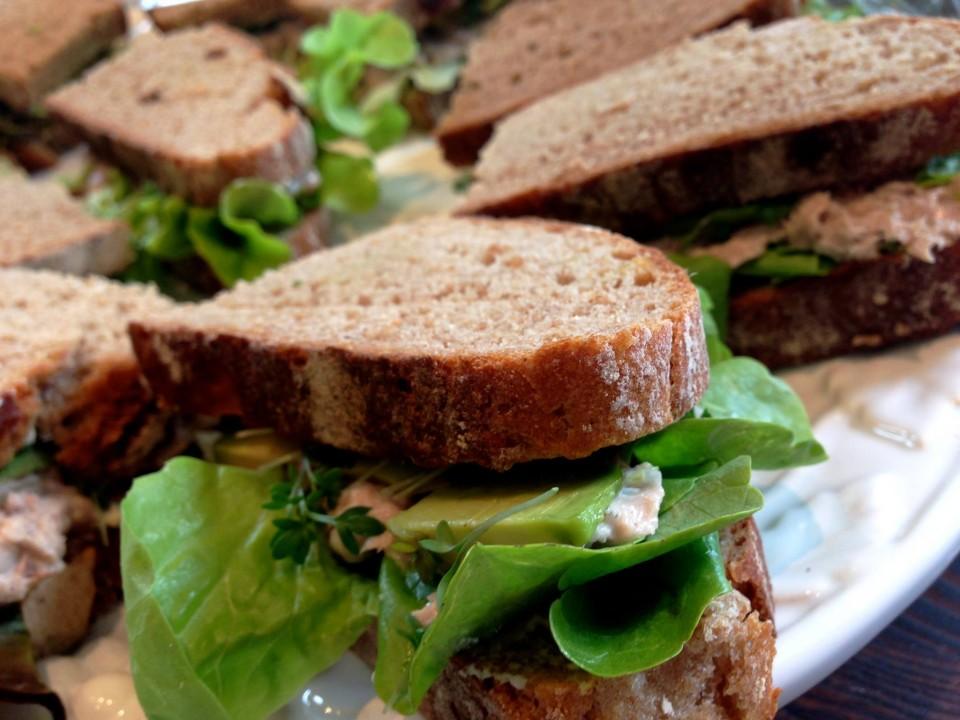 Bestes vegetarisches Sandwich der Stadt, El Naturista Frankfurt, vegan, gesund, lecker