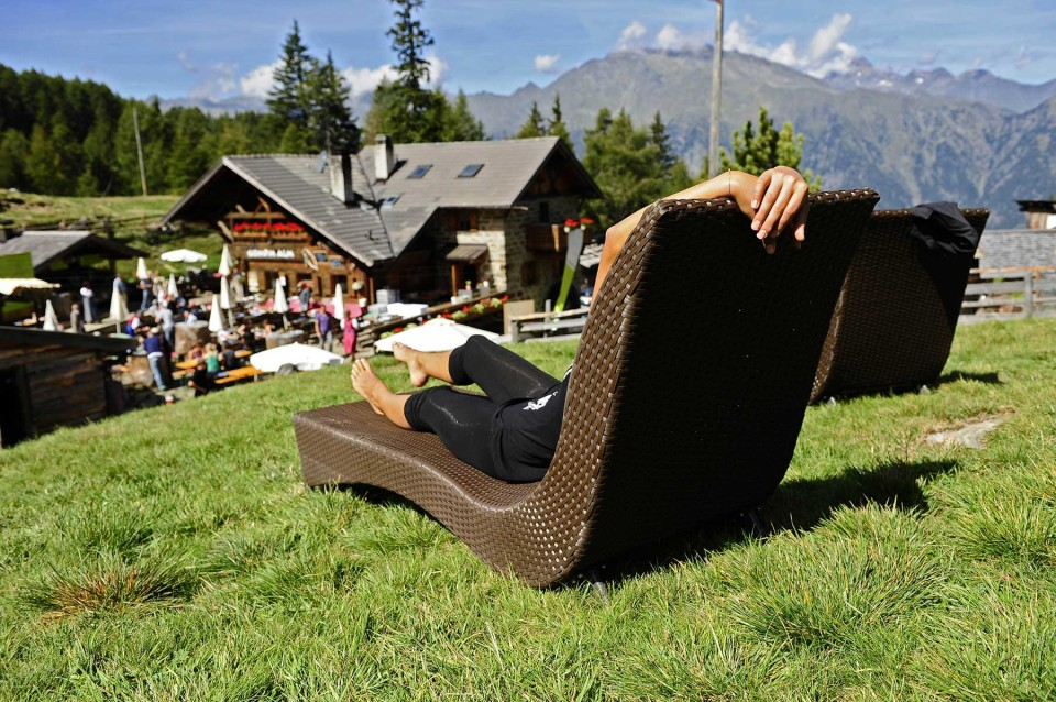 Gompmalm Saltaus, Meran, Südtirol