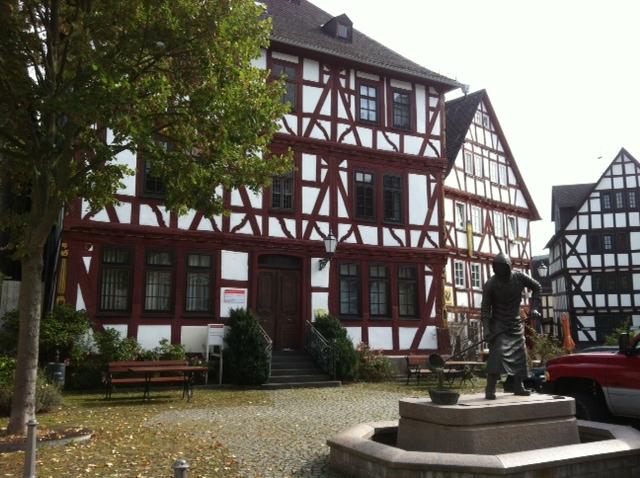 Fachwerkhäuser in Dillenburg