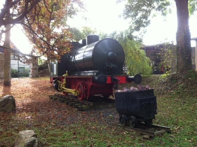 Lokomotive in Dillenburg