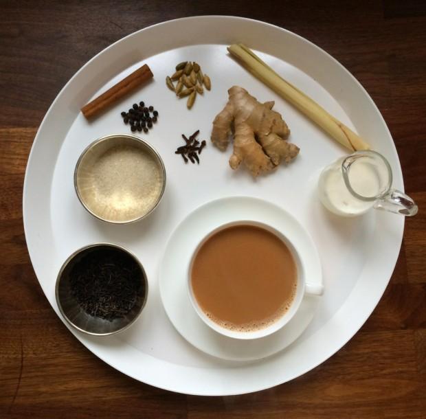 Lieblingsflecken Chai-Tee by Monika - und so sieht's aus, wenn's fertig ist!
