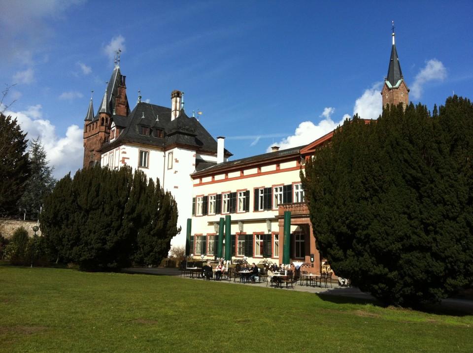 Schlosspark in Weinheim
