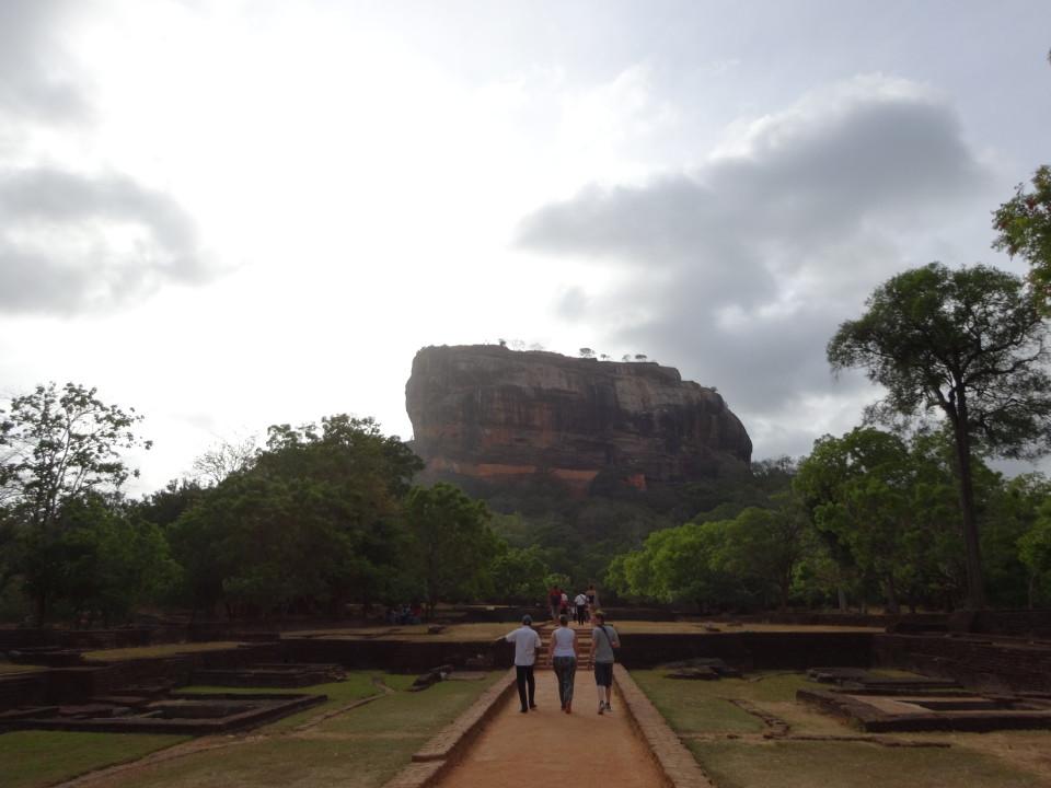 Sri Lanka Sigiriya Löwenfelsen Lion Rock