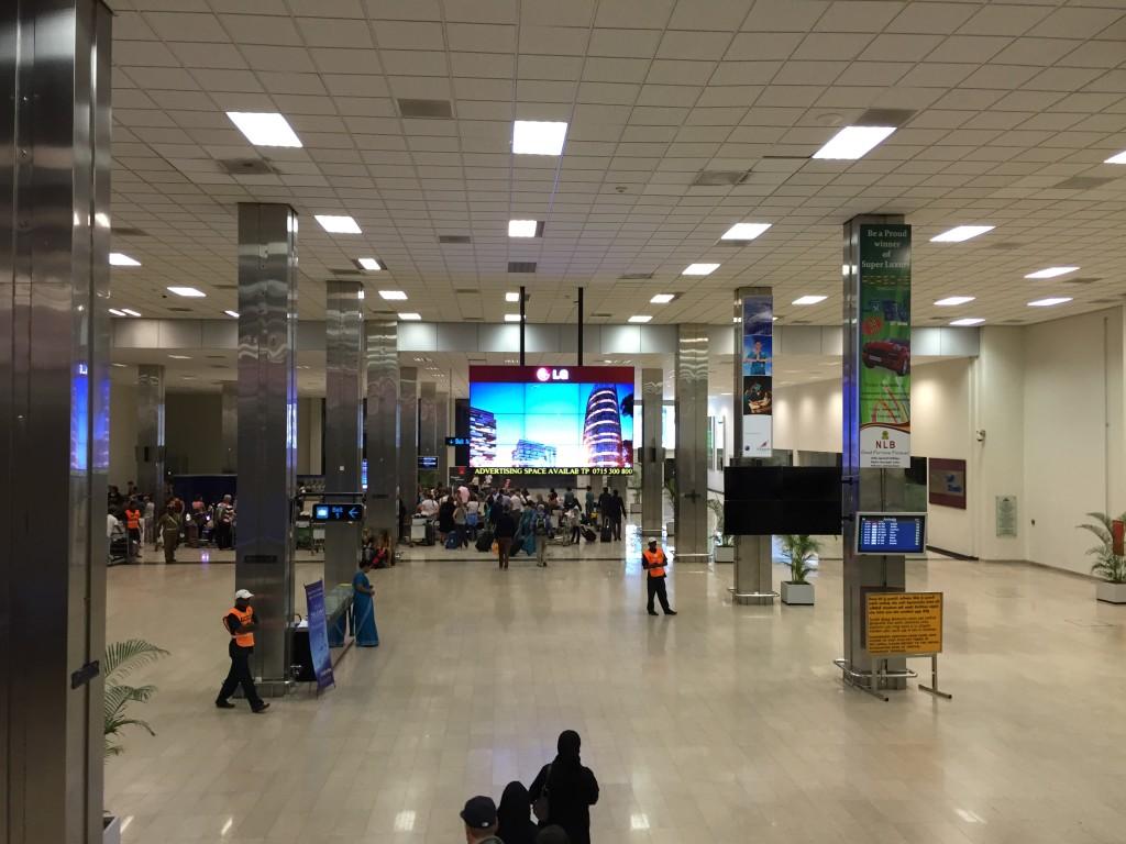 Airport Colombo Sri Lanka
