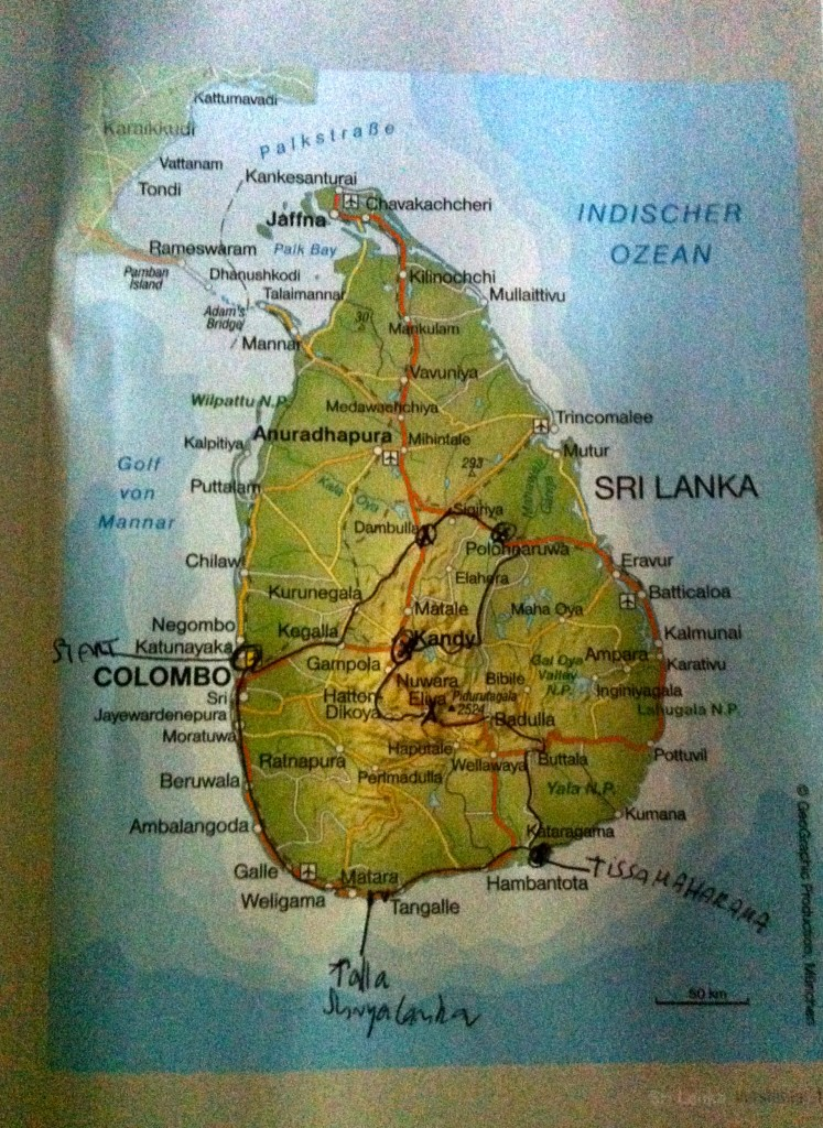 Sri Lanka in 5 Tagen Lieblingsflecken
